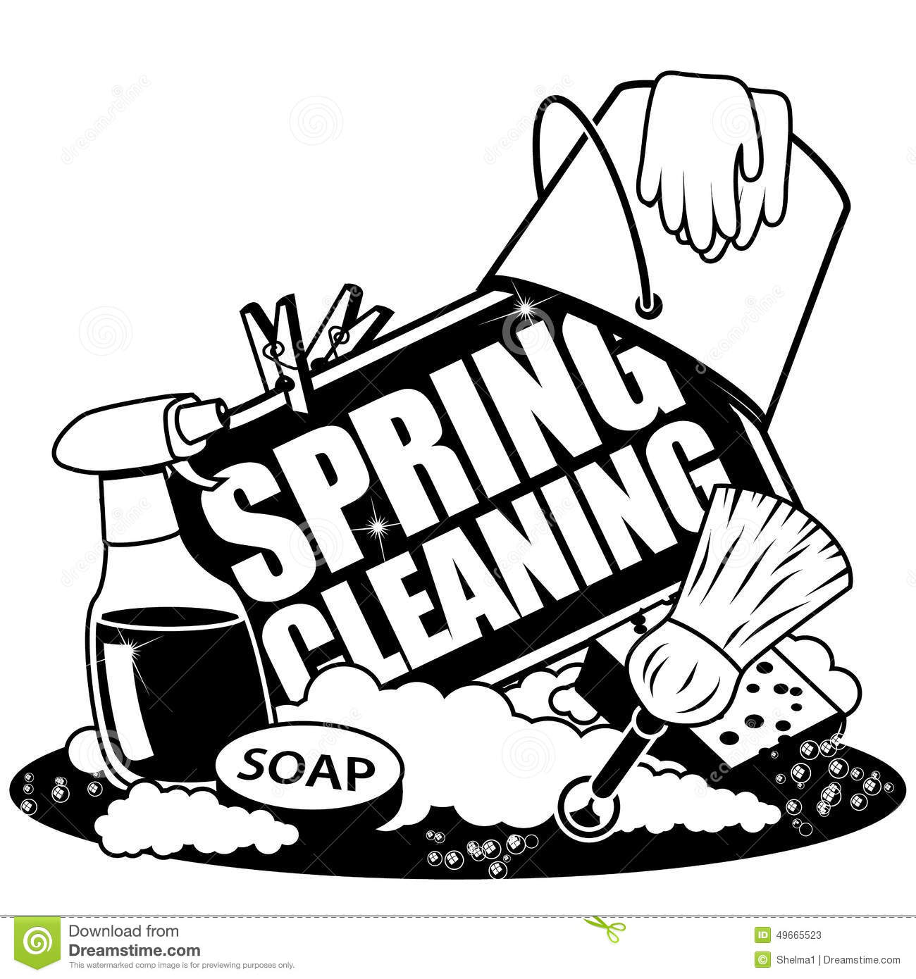 clip art illustrations cleaning - photo #12