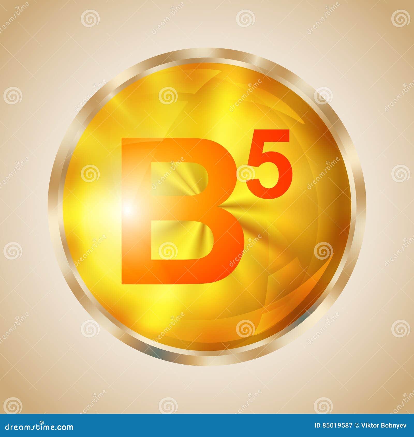 Icône de la vitamine B5