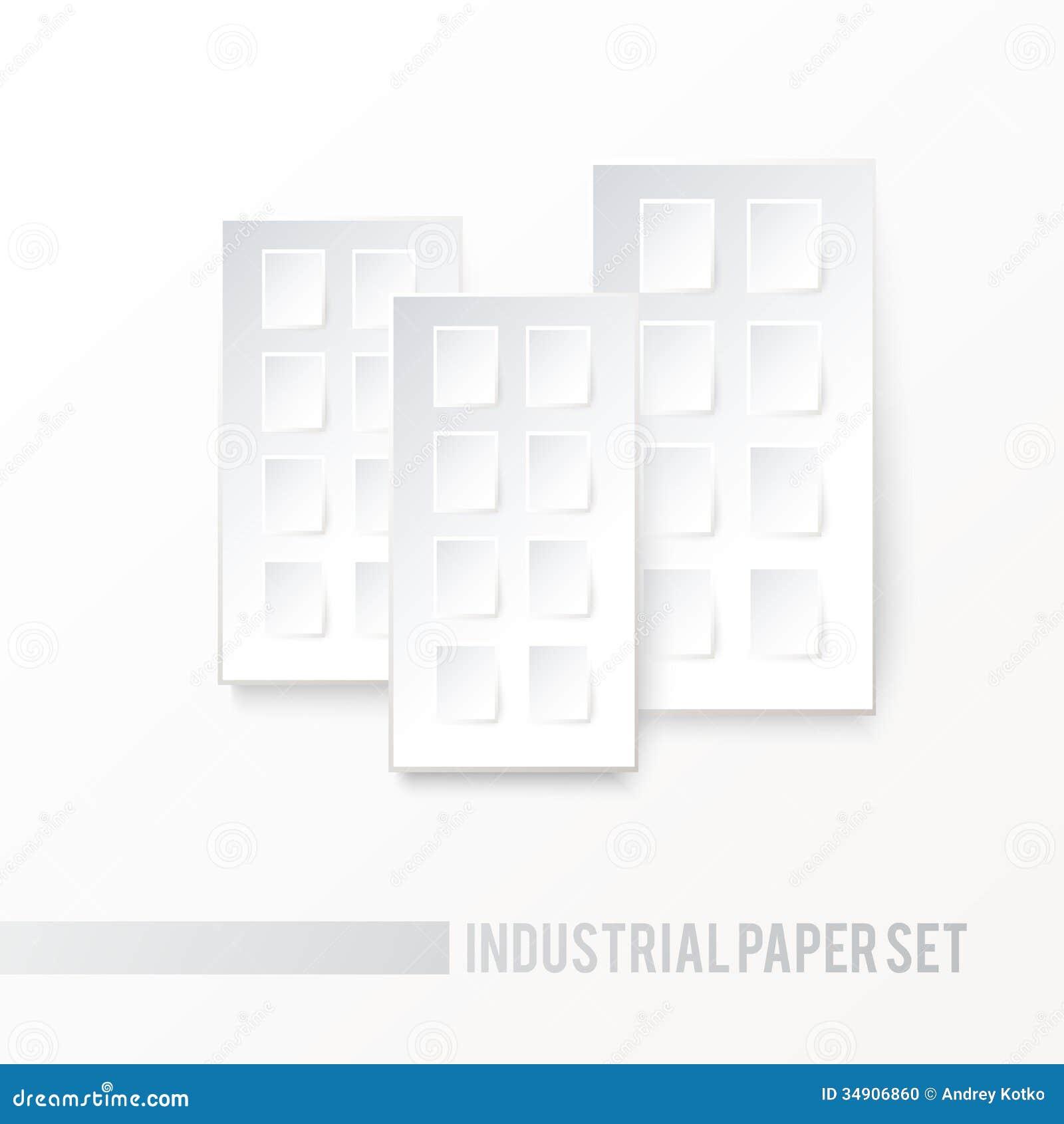 Icone De Livre Blanc De Maison Illustration De Vecteur
