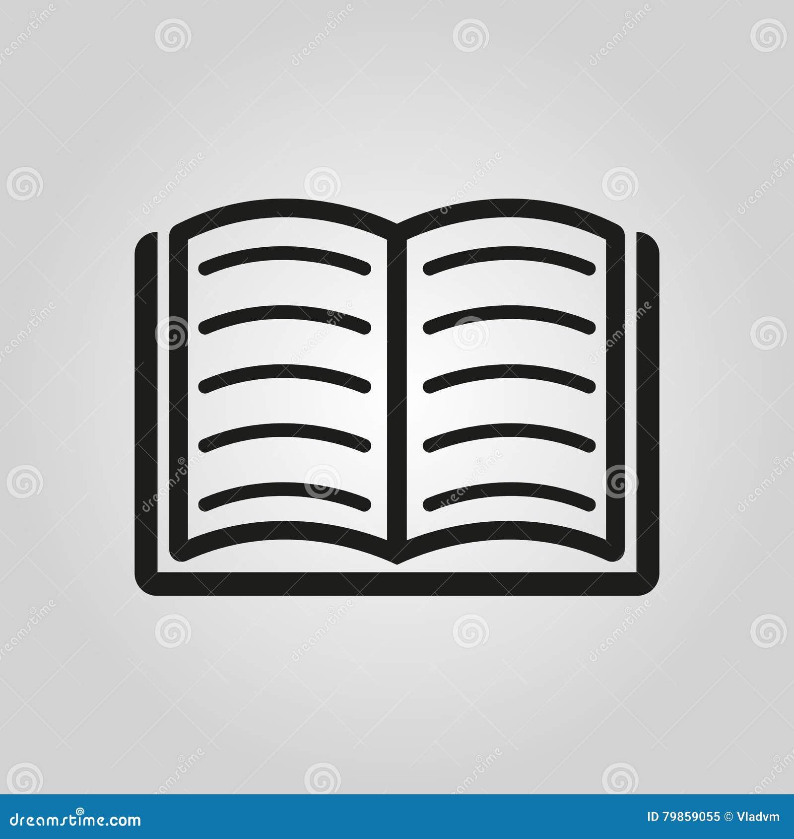 Icone De Livre Conception De Vecteur Symbole De Bibliotheque Web