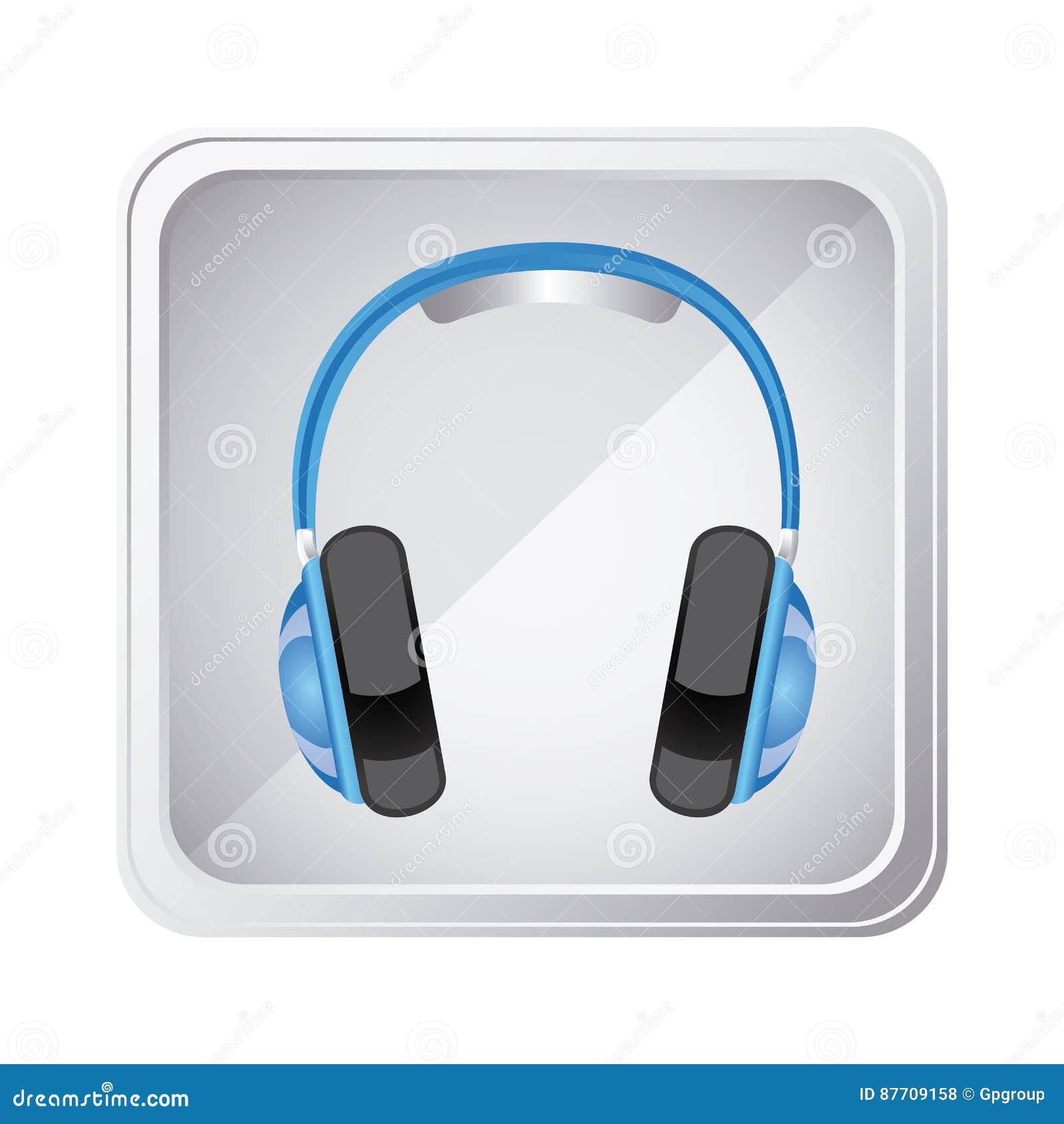 Icône de service d écouteur d emblème