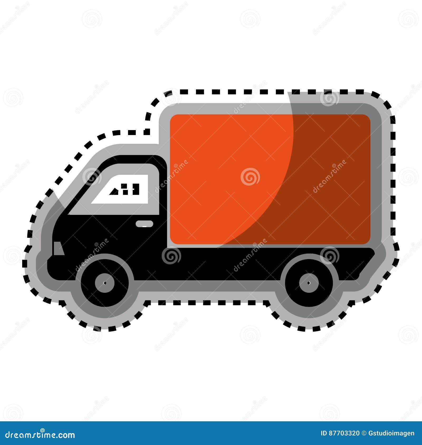 Icône de service de distribution de camion