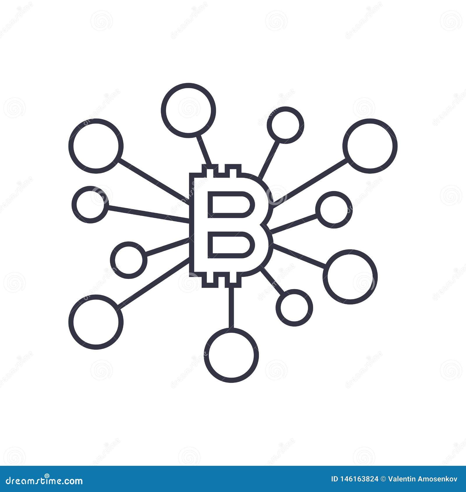 Ic?ne De Signe De Bitcoin Pour Symbole Mon?taire D'argent D