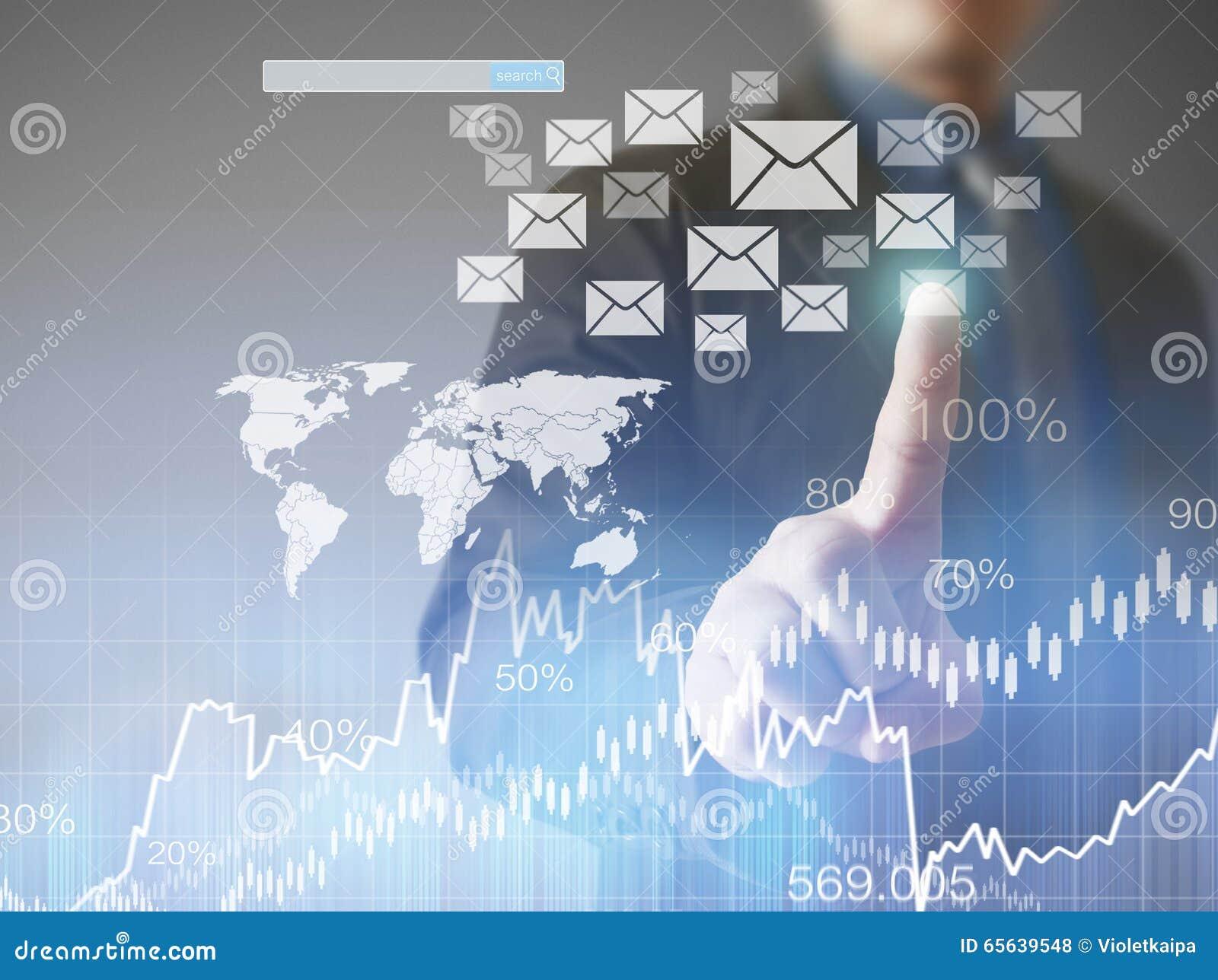 Icône virtuelle émouvante de réseau social