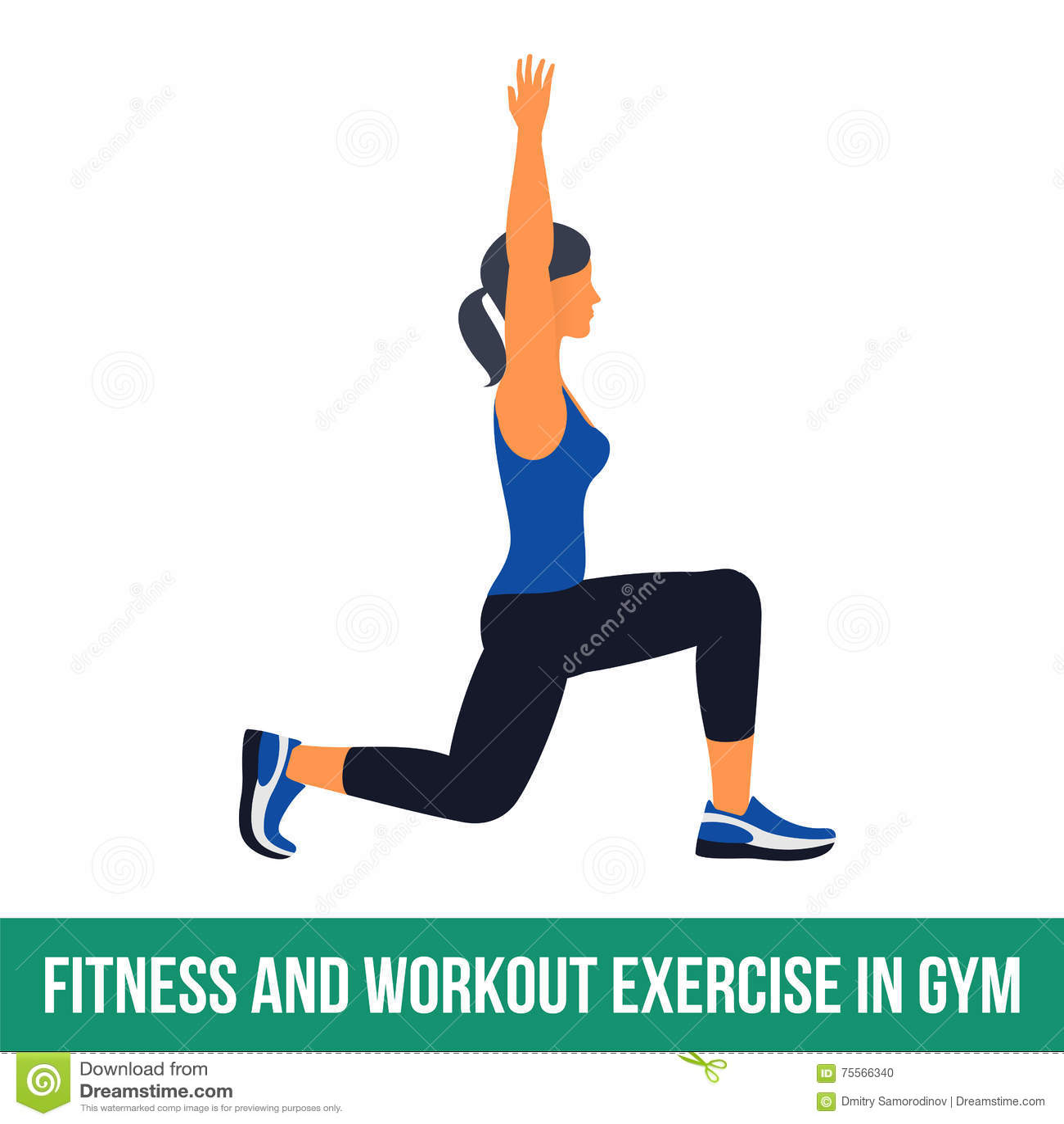 Icônes aérobies workout