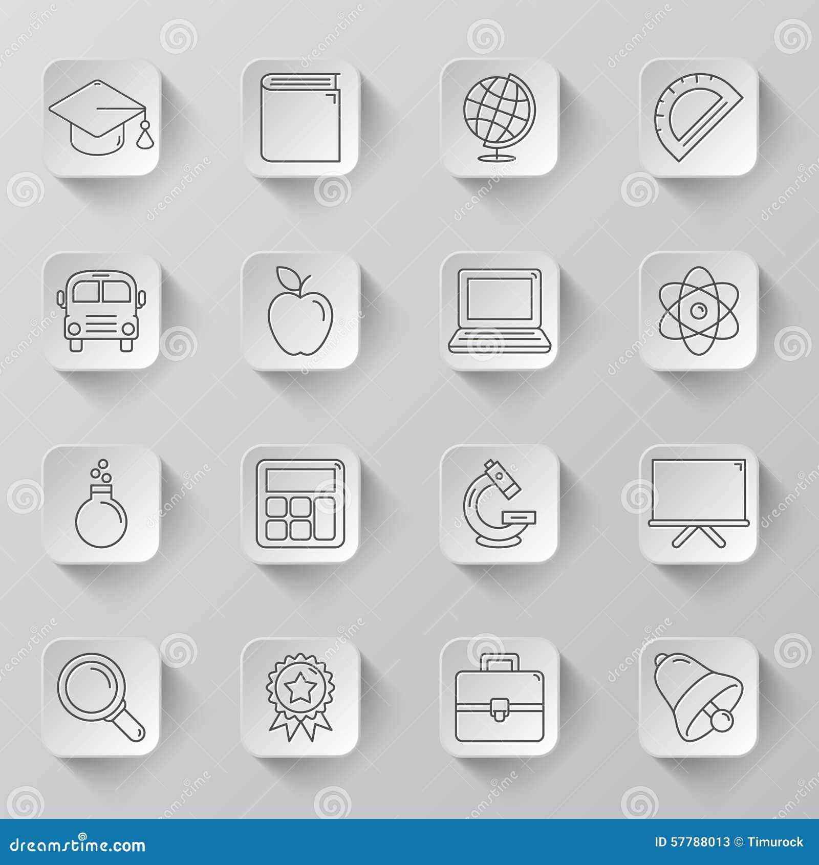 Icônes d éducation