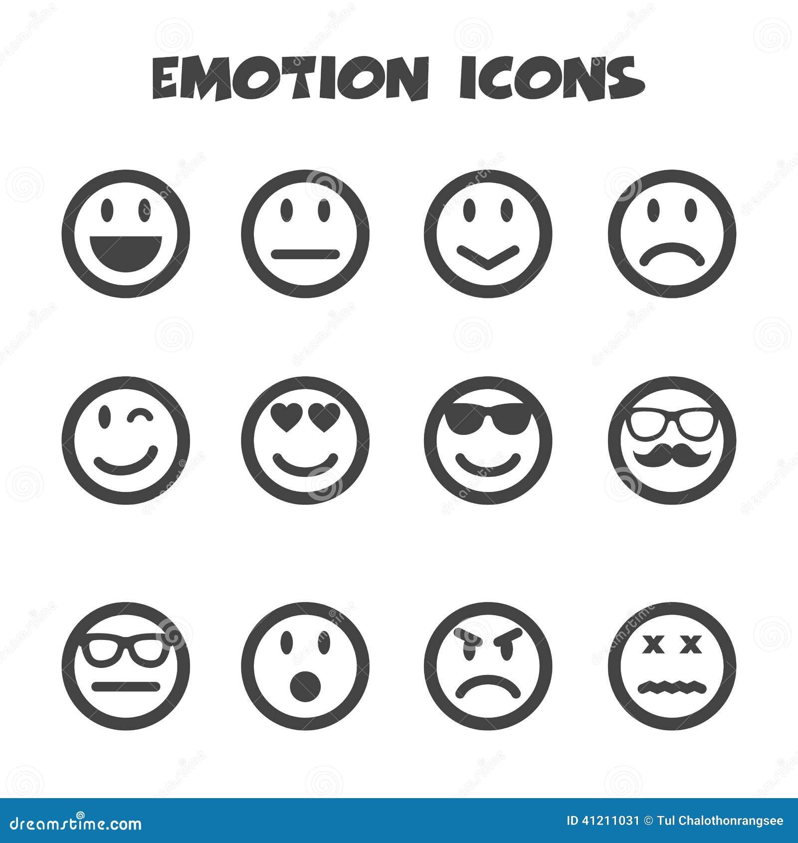 Icônes d émotion