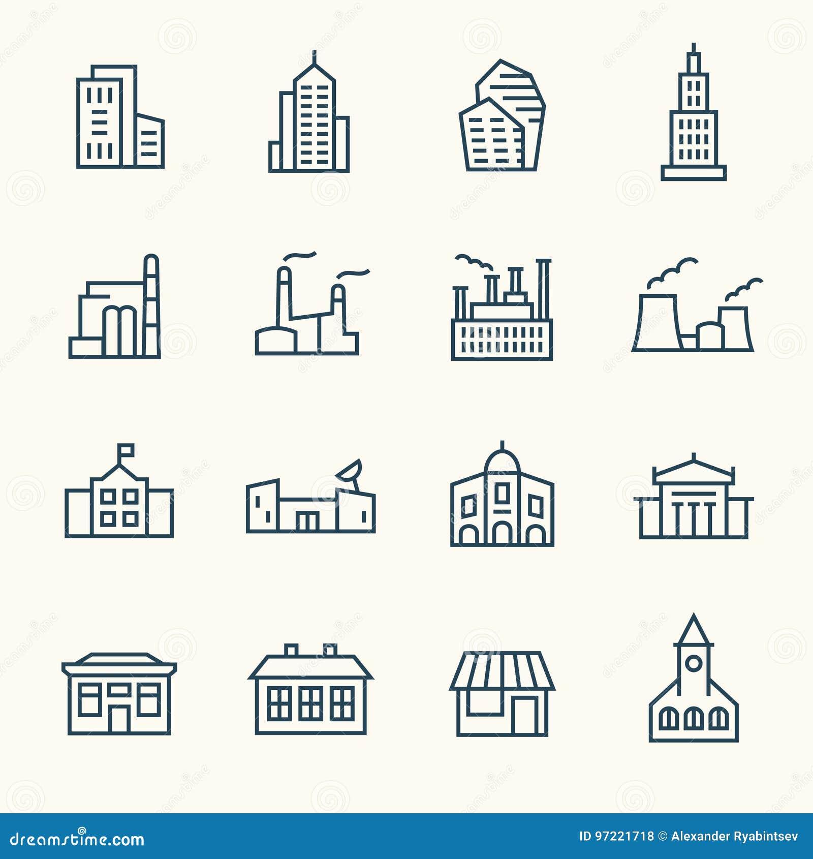 Icônes d architecture