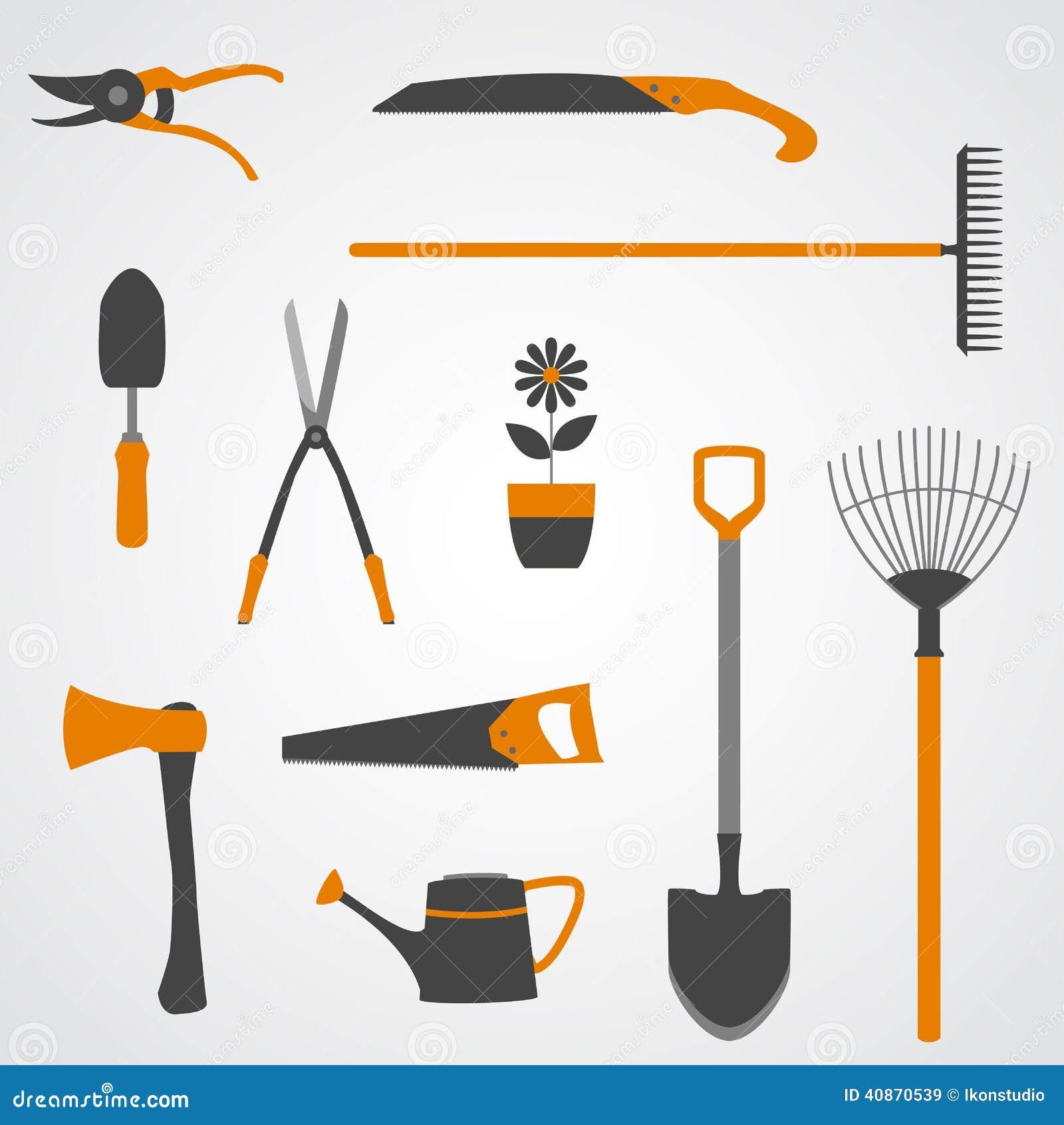 Icônes d outils de jardin