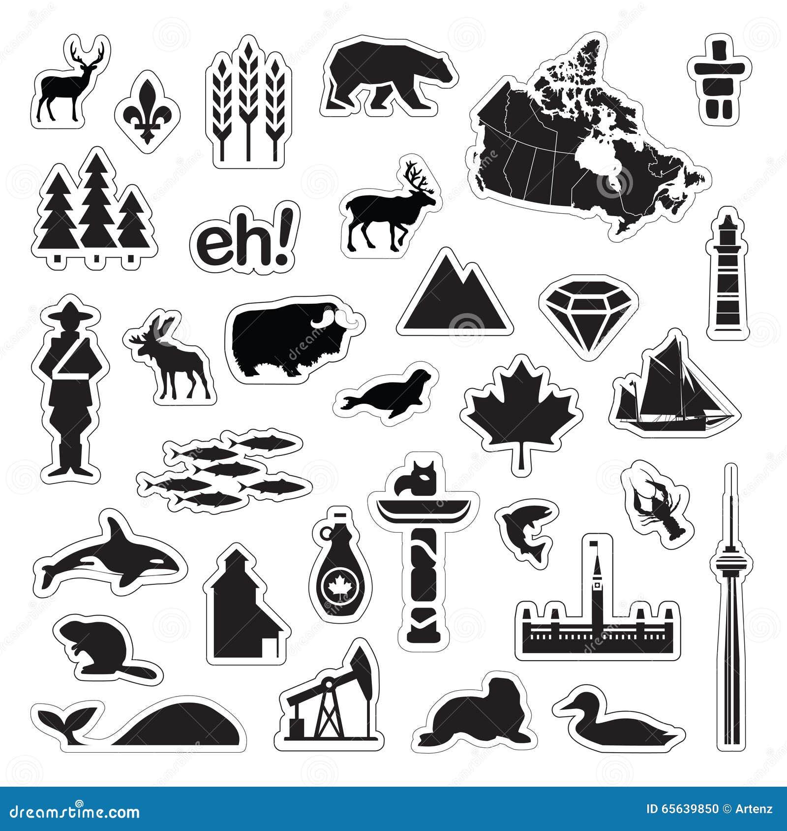 Icônes de Canada