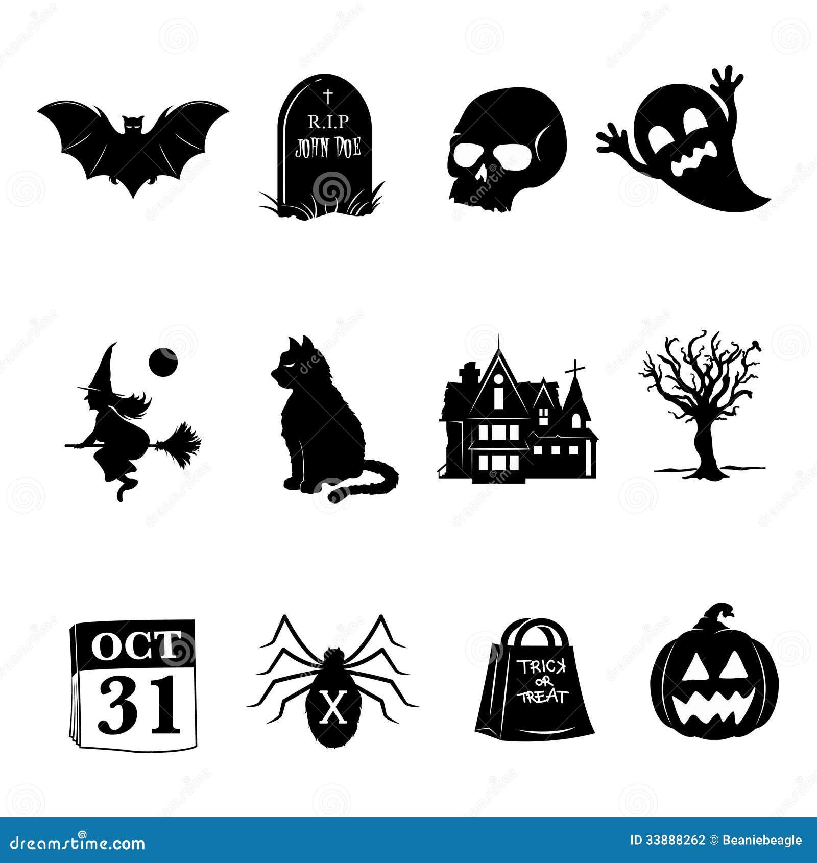 Icônes de Halloween