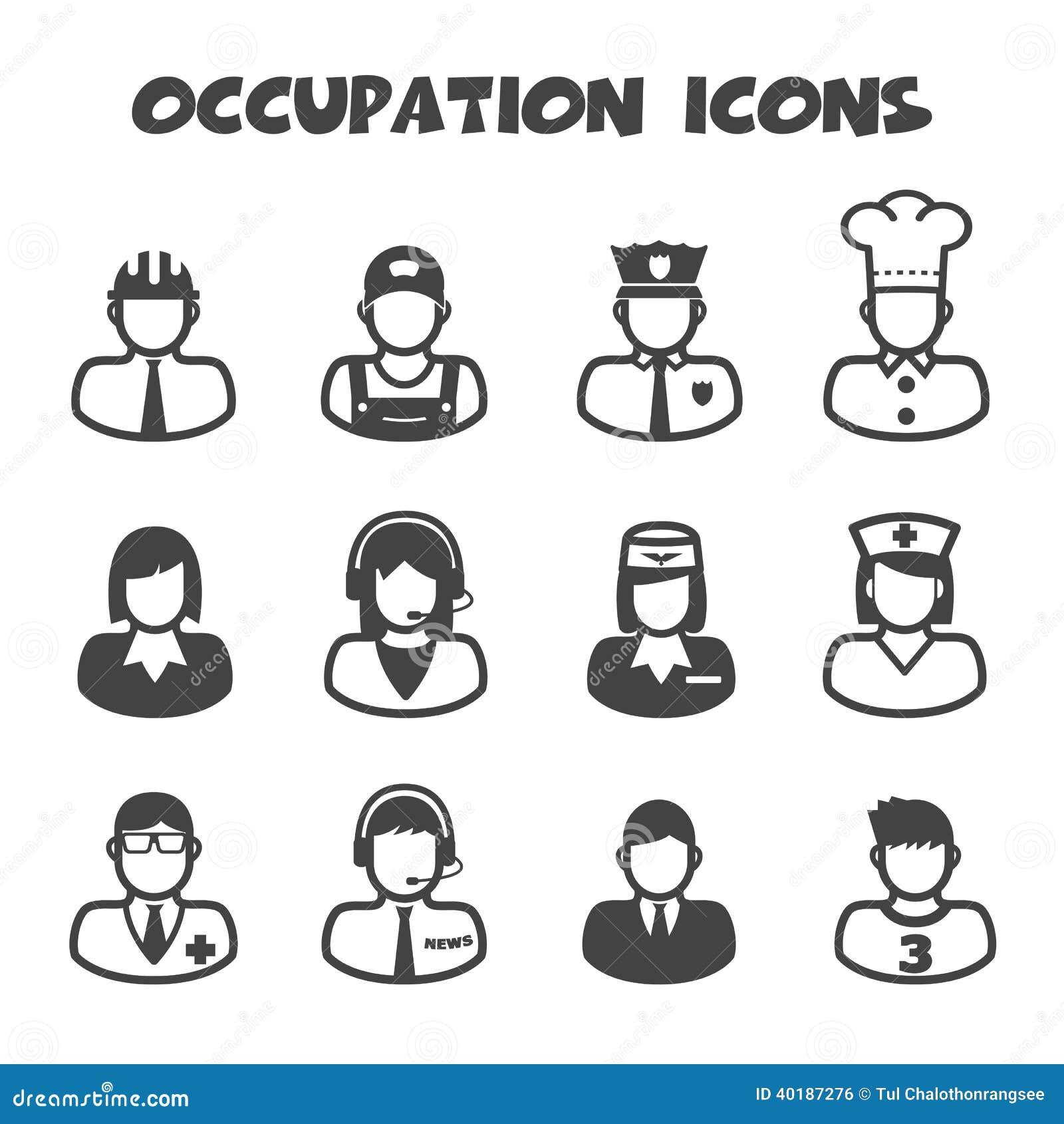 Icônes de profession
