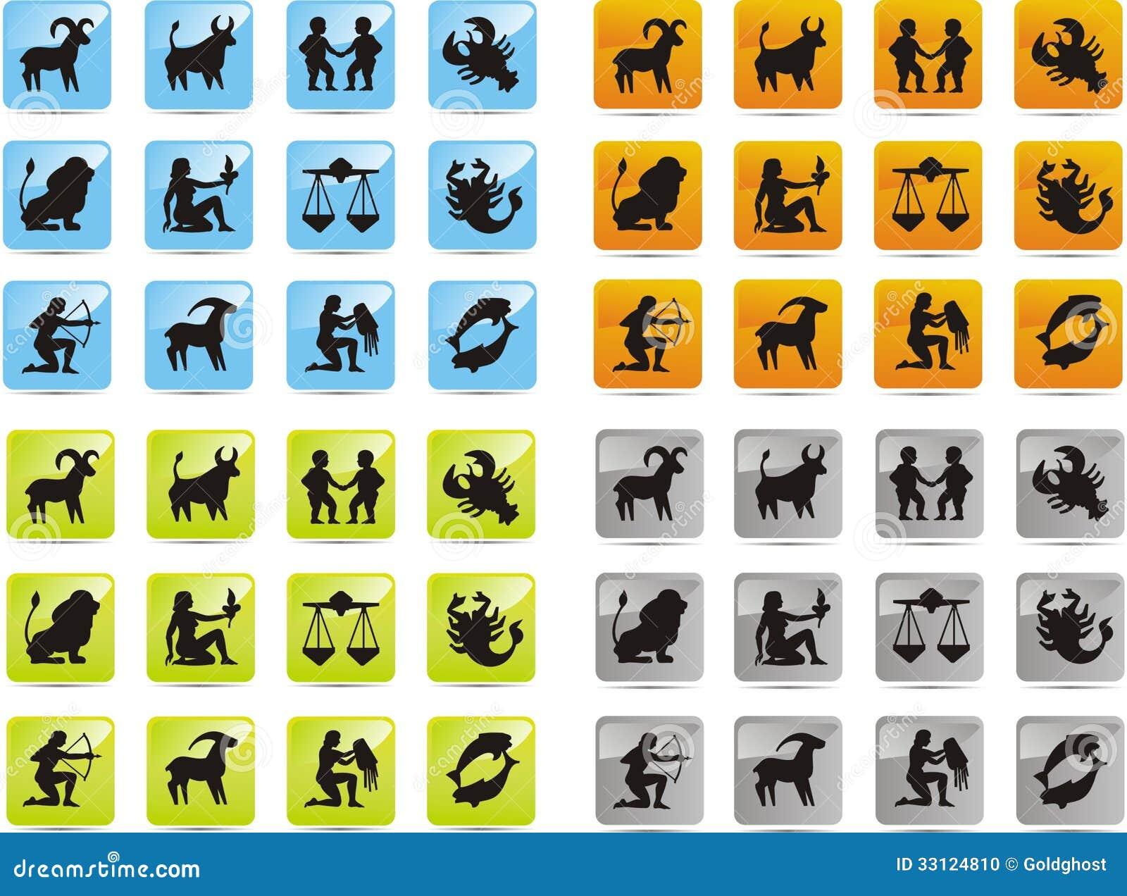 Icônes de zodiaque