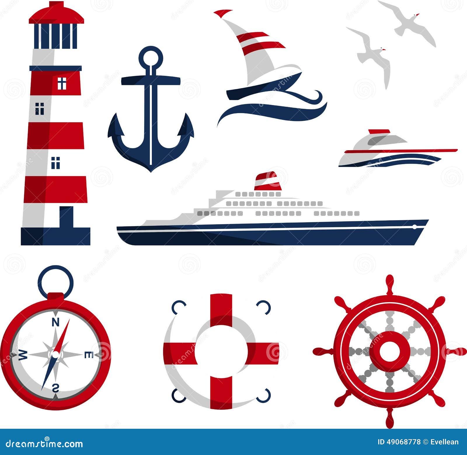Icônes nautiques