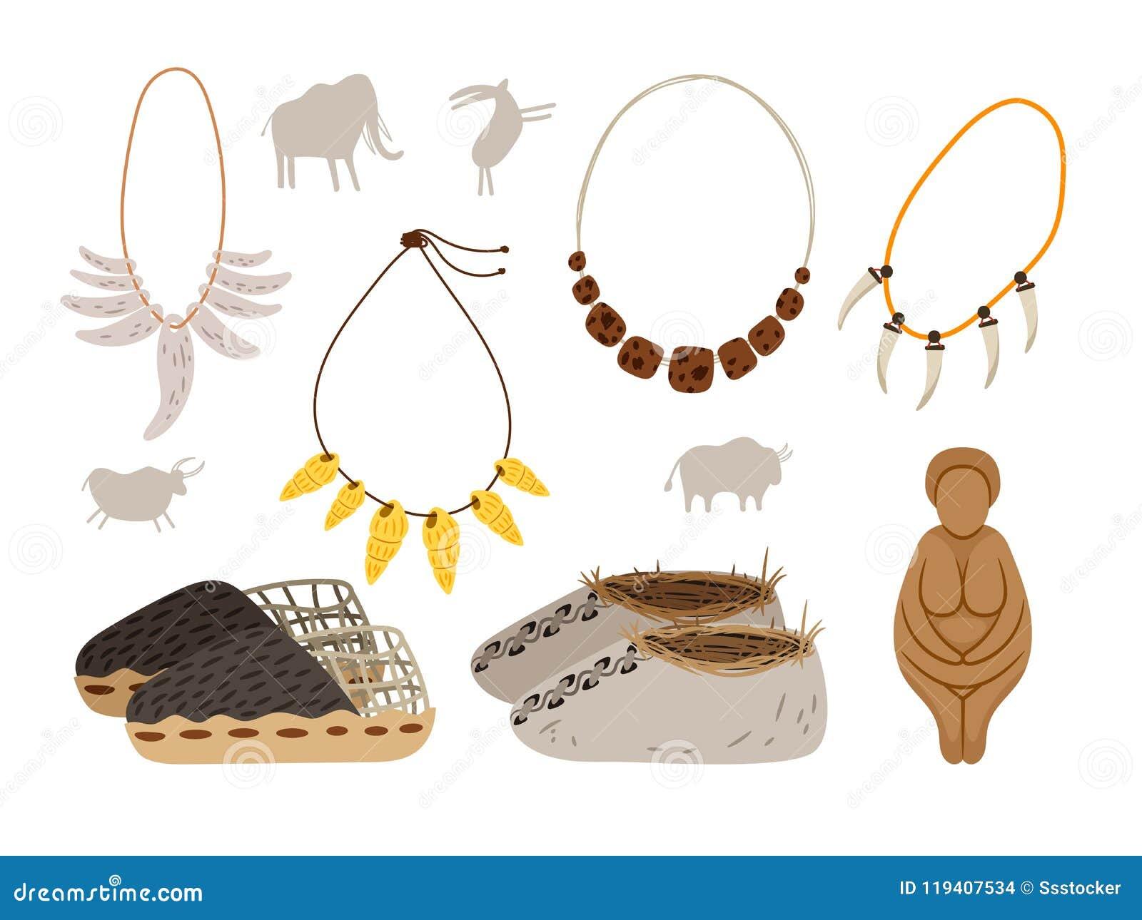 Ice age cartoon elements stock vector. Illustration of animal ...