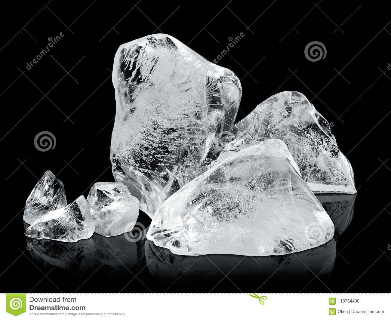 Download Ice blocks stock photo. Image of block, isolated, cube - 118754400