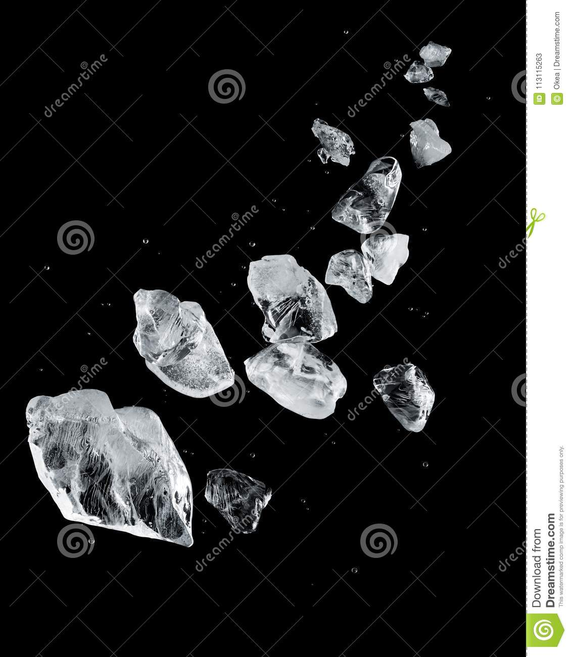 Download Ice stock image. Image of cold, block, background, abstract - 113115263