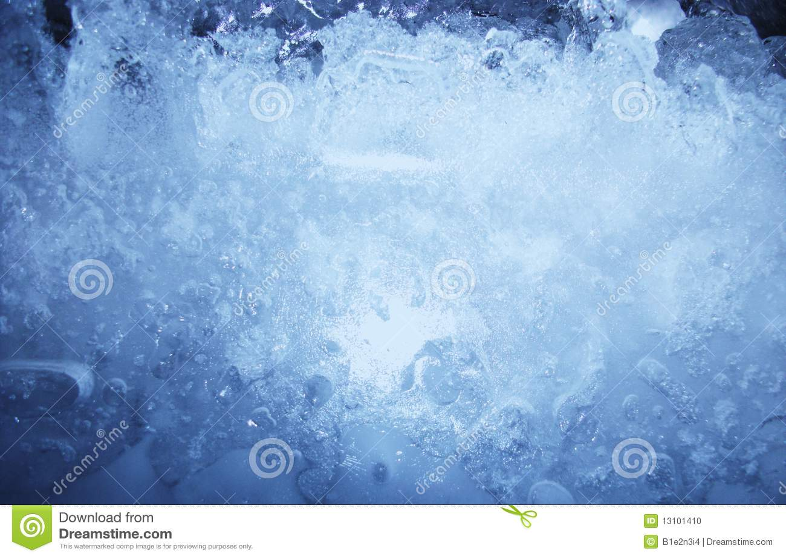 Ice blue texture
