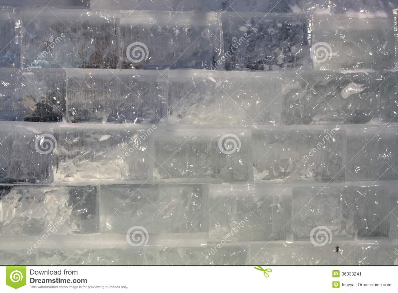 ice cube wall royalty free stock images - image: 35739809