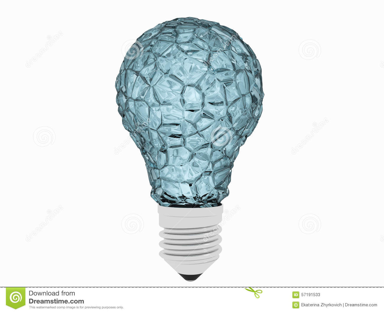 ice bulb stock image image of frozen inspiration technology