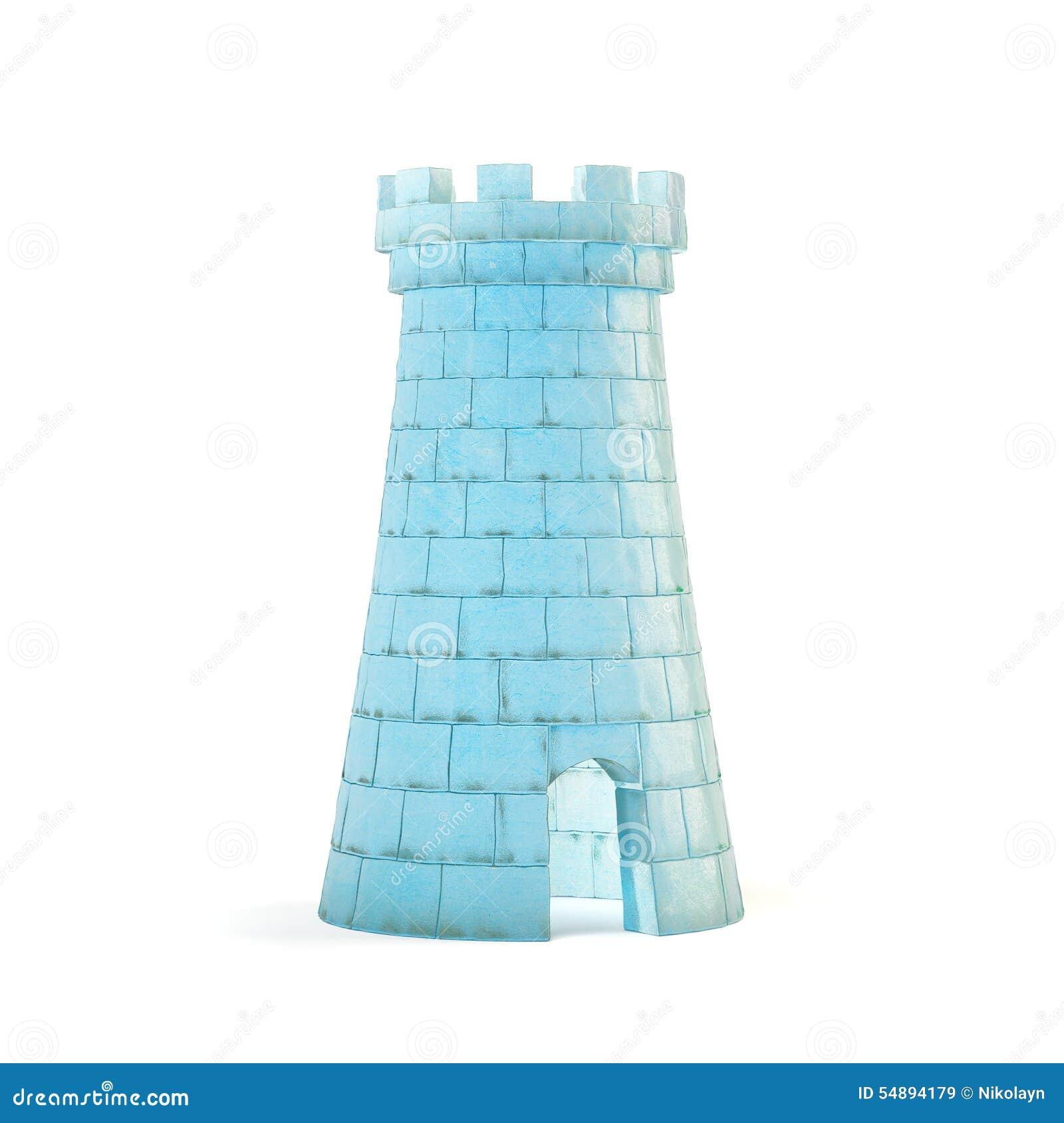 Ice Castle Stock Illustration