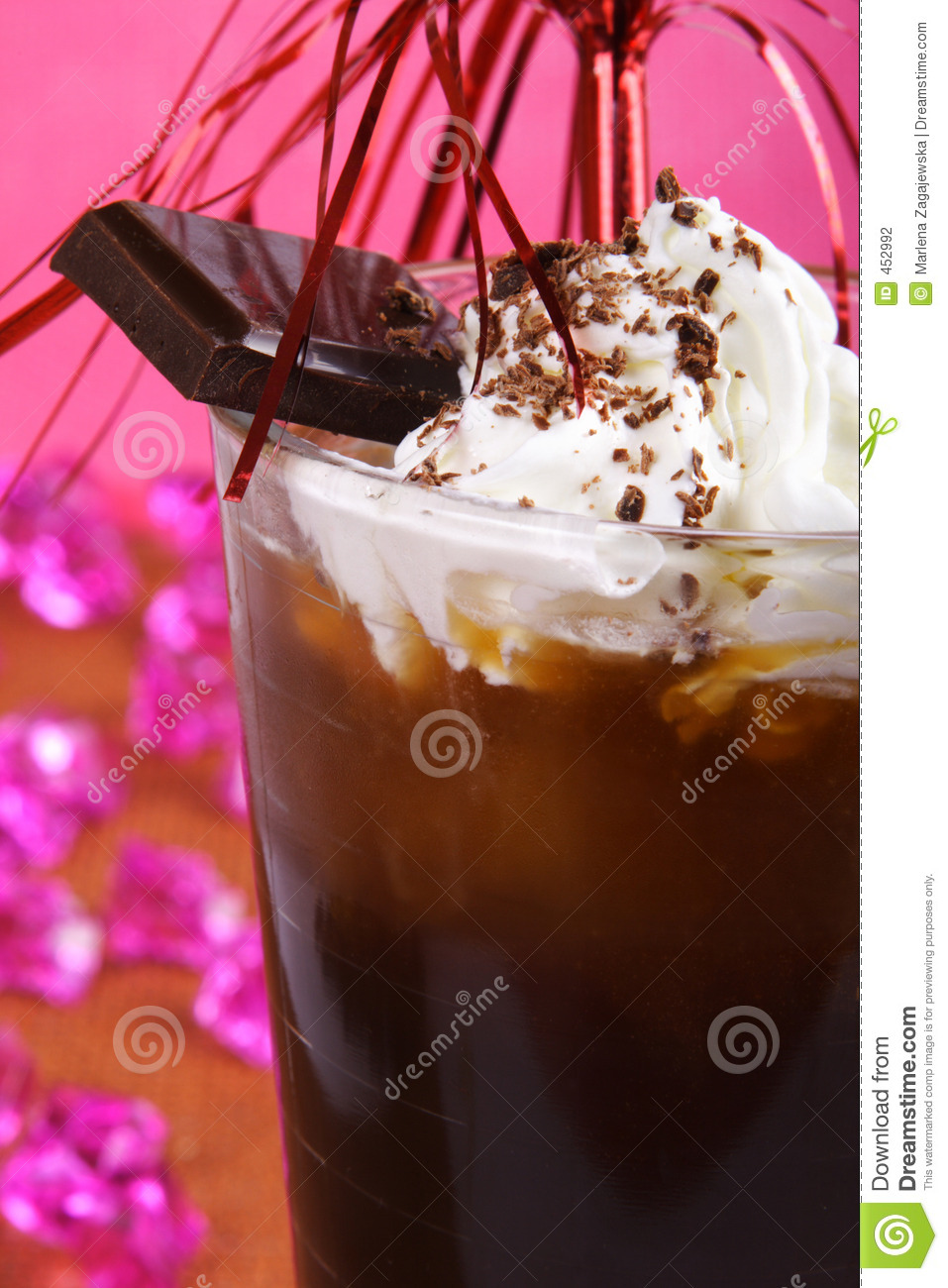 Download Ice coffee stock photo. Image of cold, cafe, chocolate - 452992