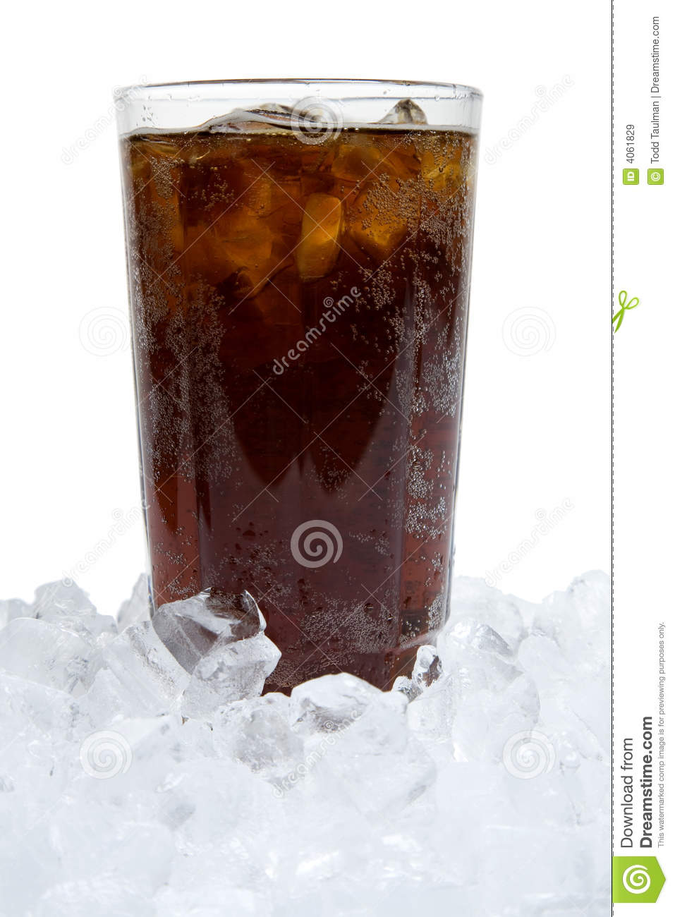 Ice Cold Soda Stock Image Image Of Beverage Space