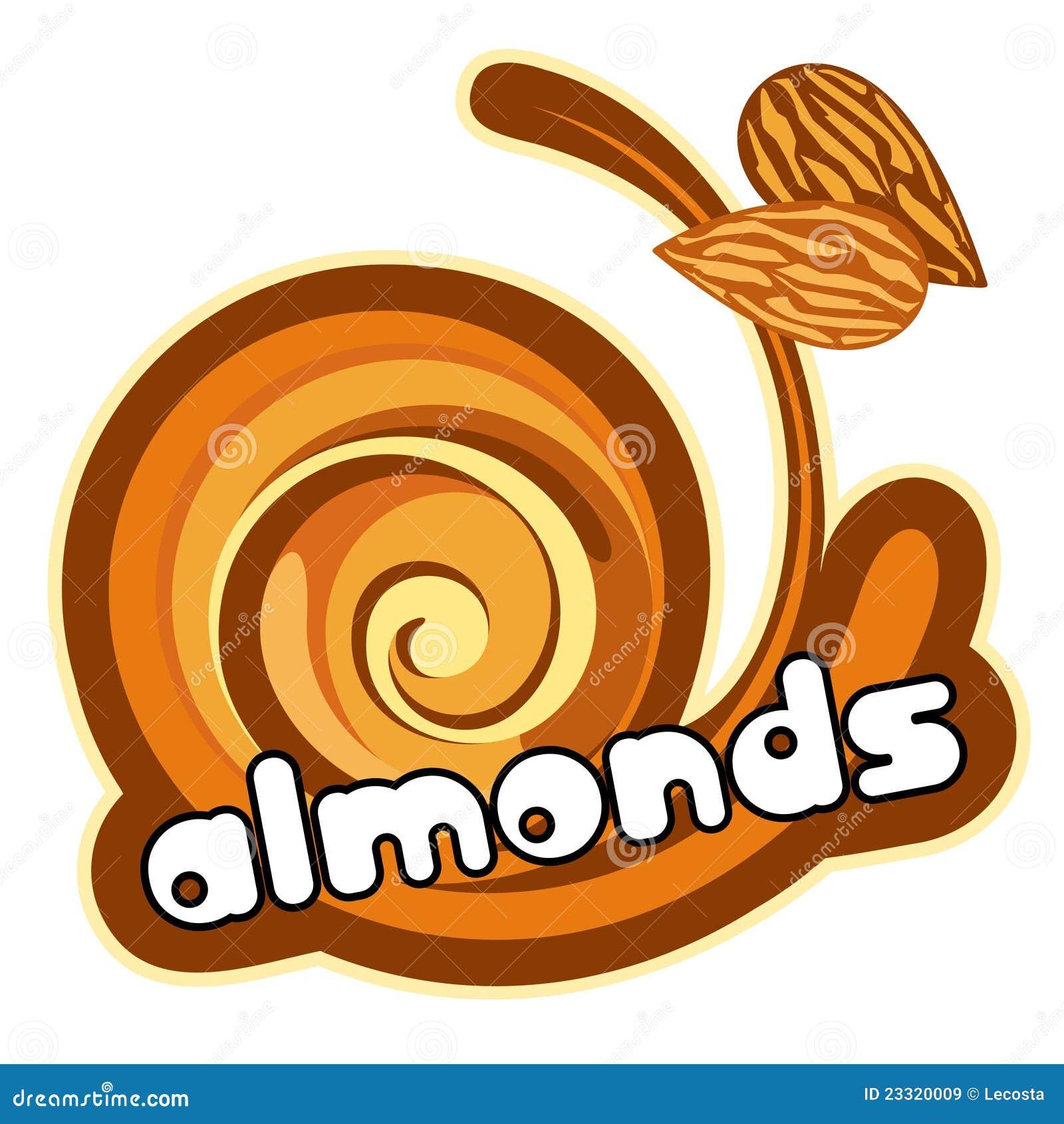 Ice cream almond