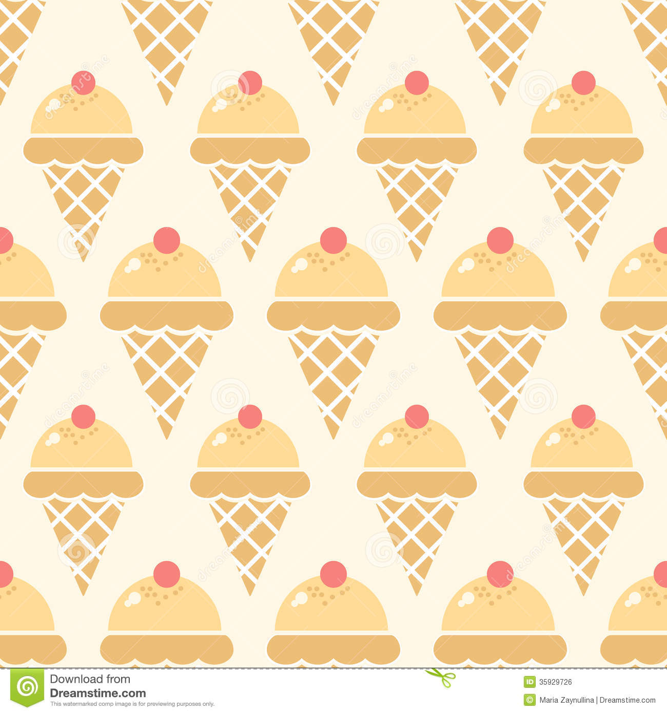 Seamless Ice Cream Wallpaper Royalty Free Stock Images: Ice Cream Background Stock Vector. Illustration Of Product