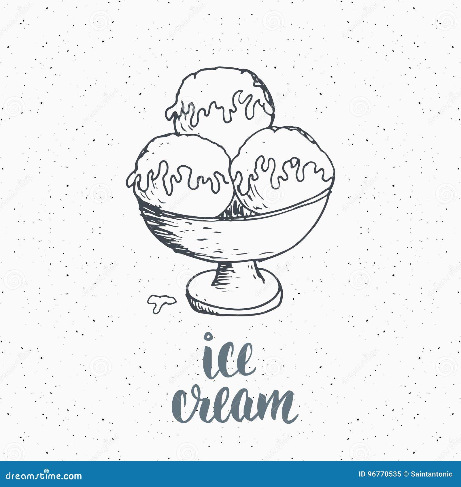 Ice cream with lettering sketch vintage label hand drawn grunge download ice cream with lettering sketch vintage label hand drawn grunge textured badge altavistaventures Choice Image