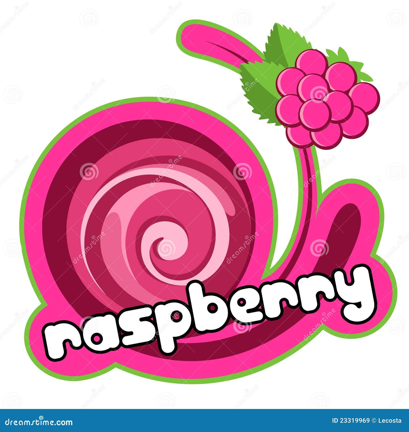 Ice cream raspberry