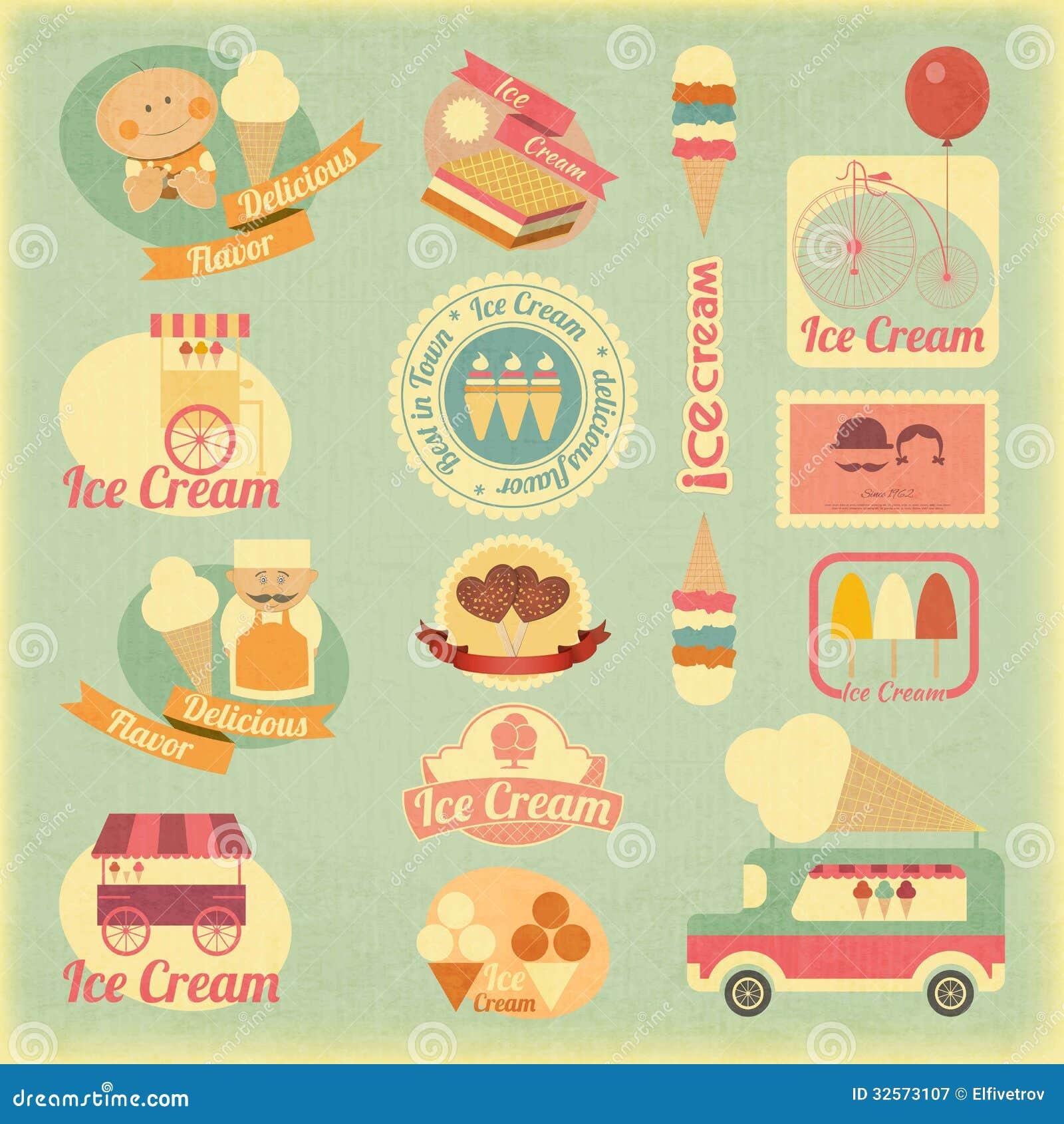 vintage ice cream clipart - photo #24