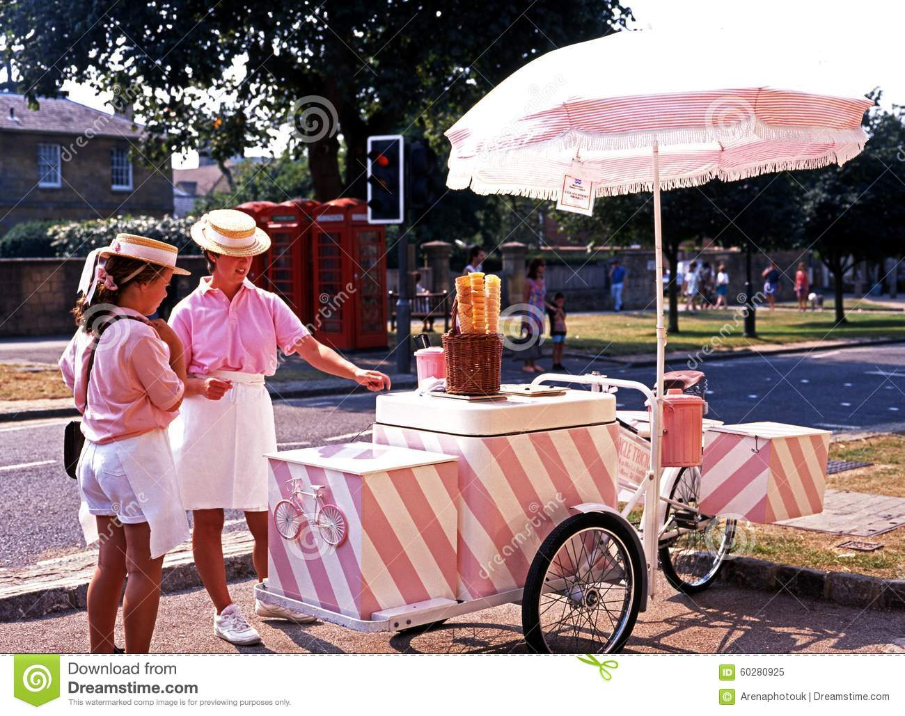 Ice Cream Sellers, Broadway.