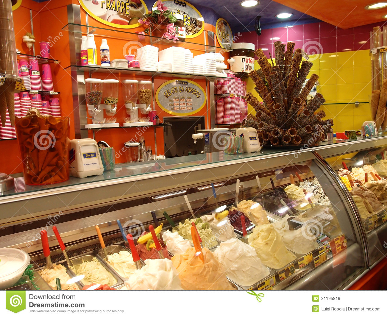 an introduction to the marketing plan for an icecream shop Marketing customer service she filled out a business plan template she'd received from the small the weather was just right for a year-round ice cream shop.