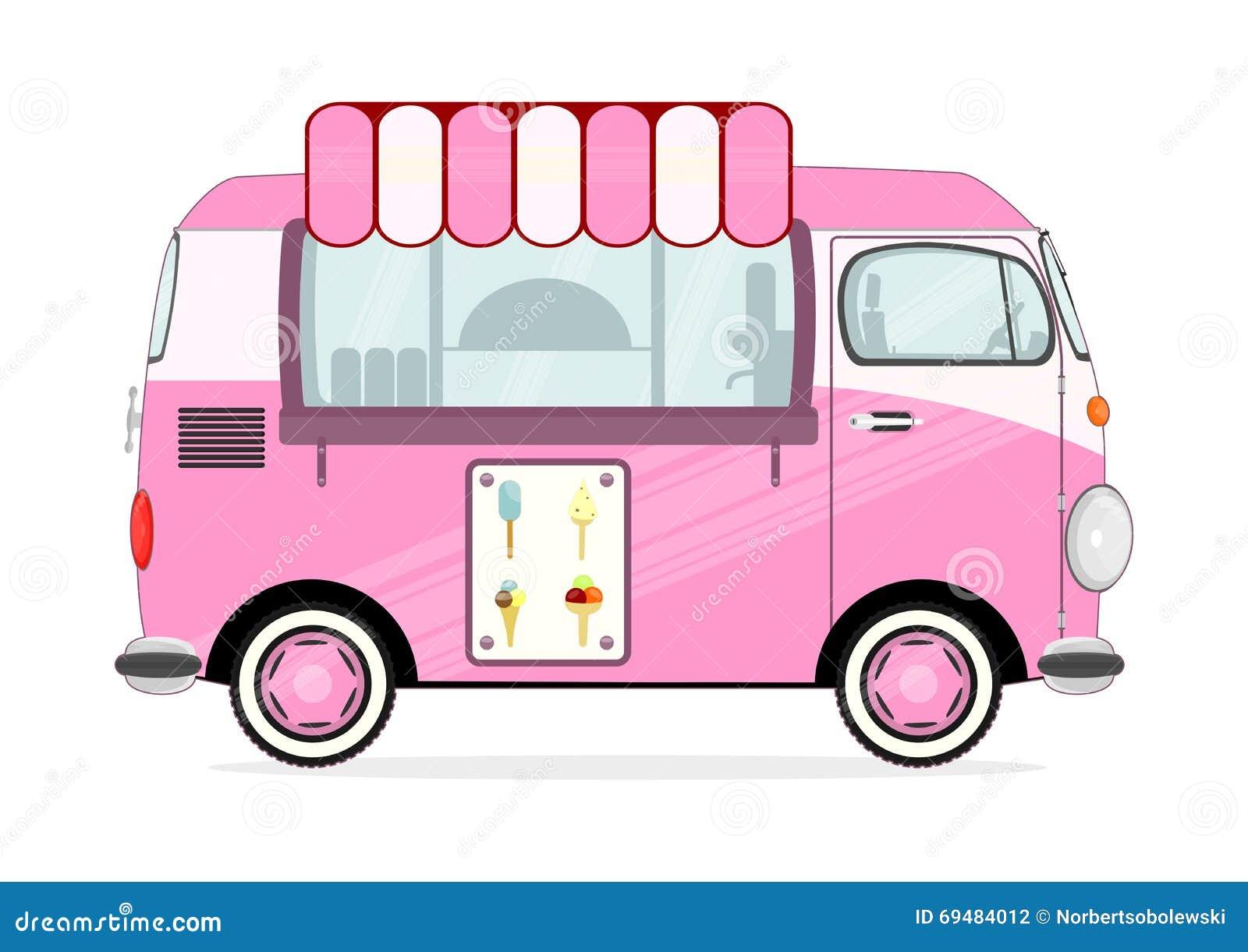 ice cream van stock illustrations 1 050 ice cream van stock rh dreamstime com clipart ice cream truck images ice cream truck clip art free