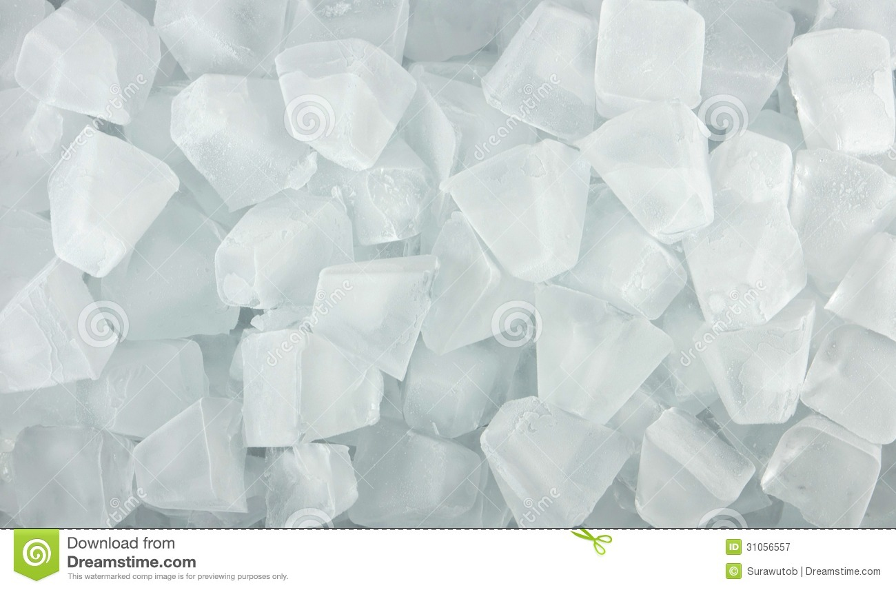 Ice Cubes For Background Royalty Free Stock Photography ...