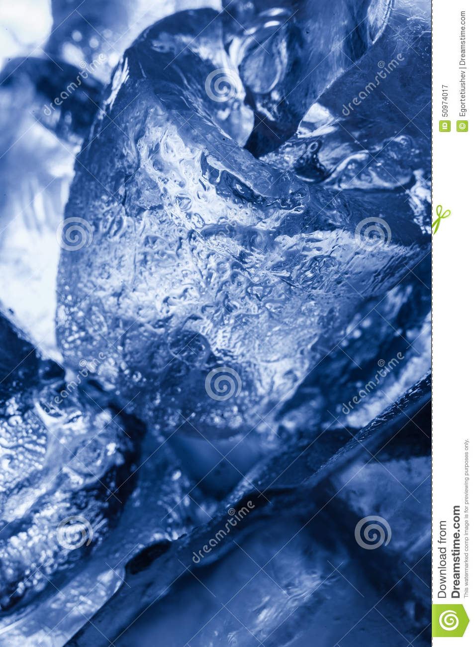 Ice Cubes Texture Stock Photo - Image: 50974017