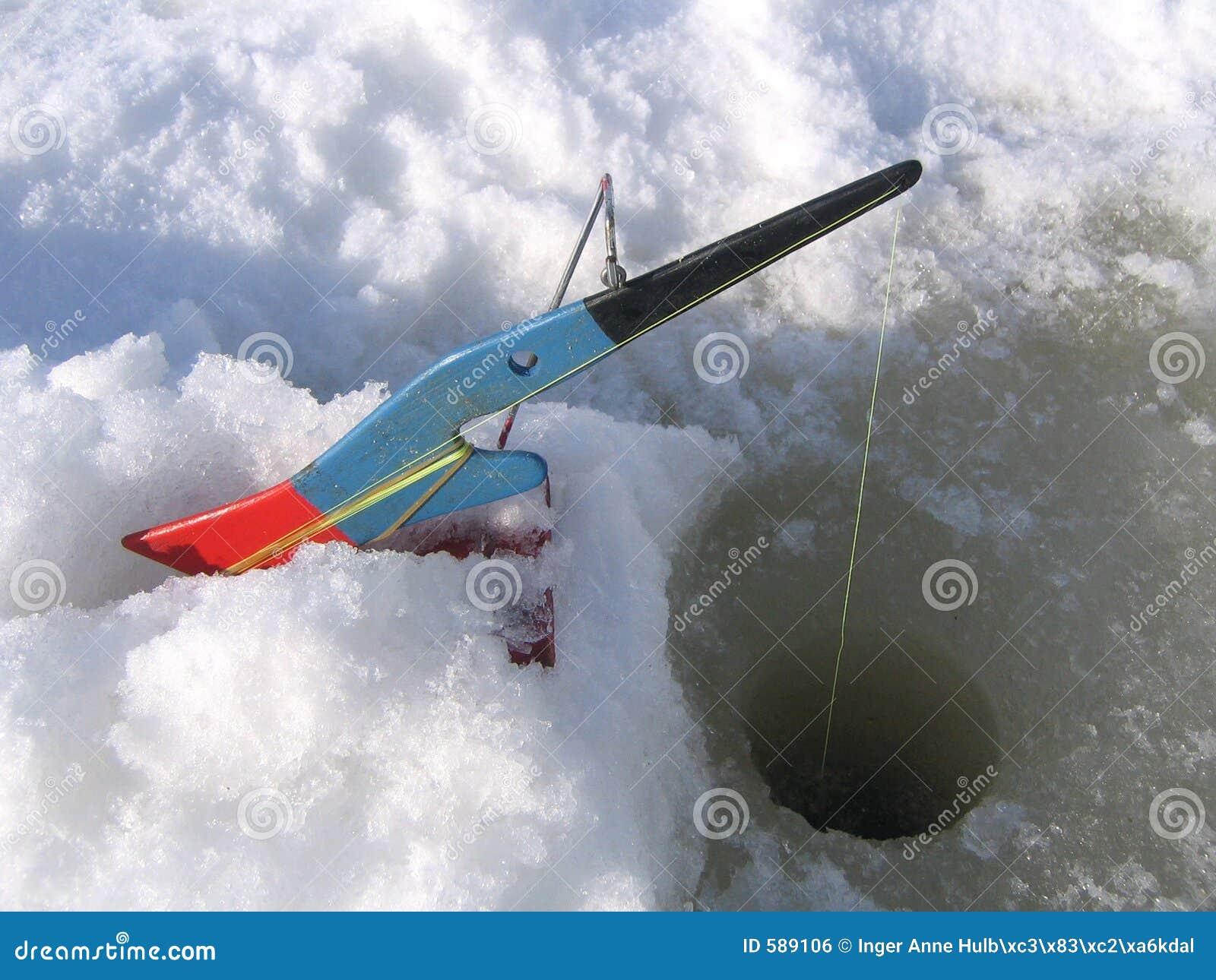 Ice fishing equipment royalty free stock image image 589106 for Ice fishing tools