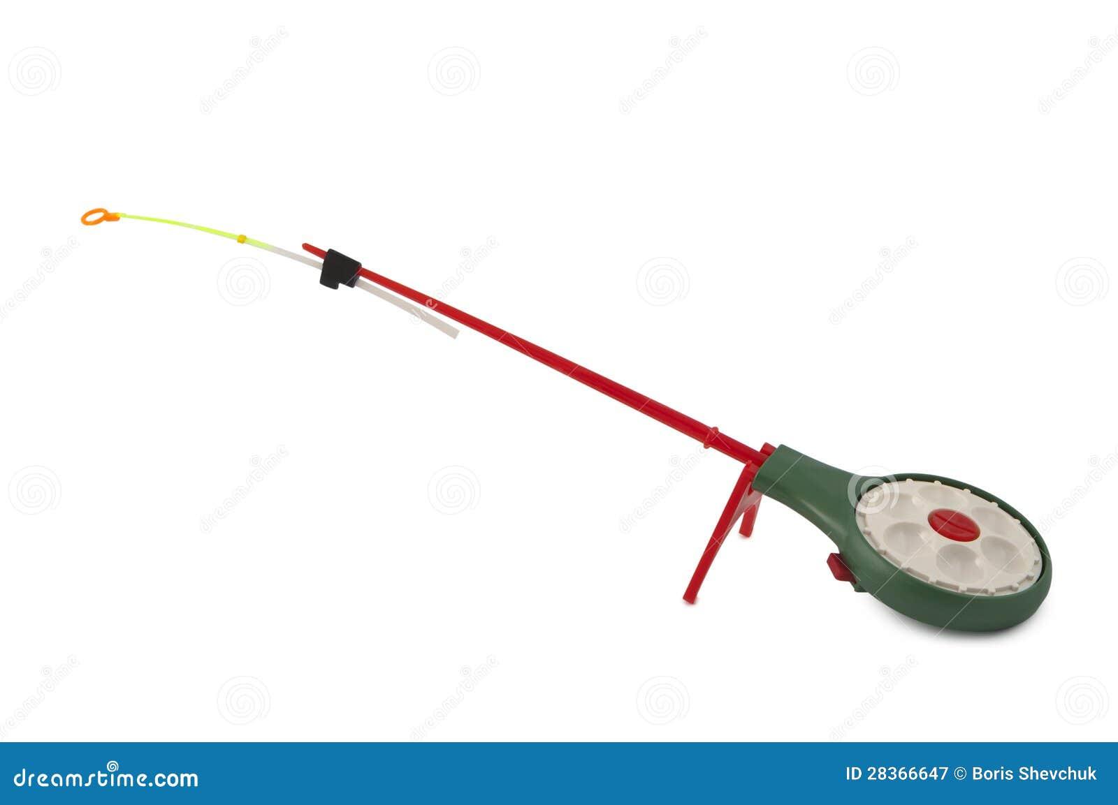 Ice Fishing Rods Royalty Free Stock Photography Image