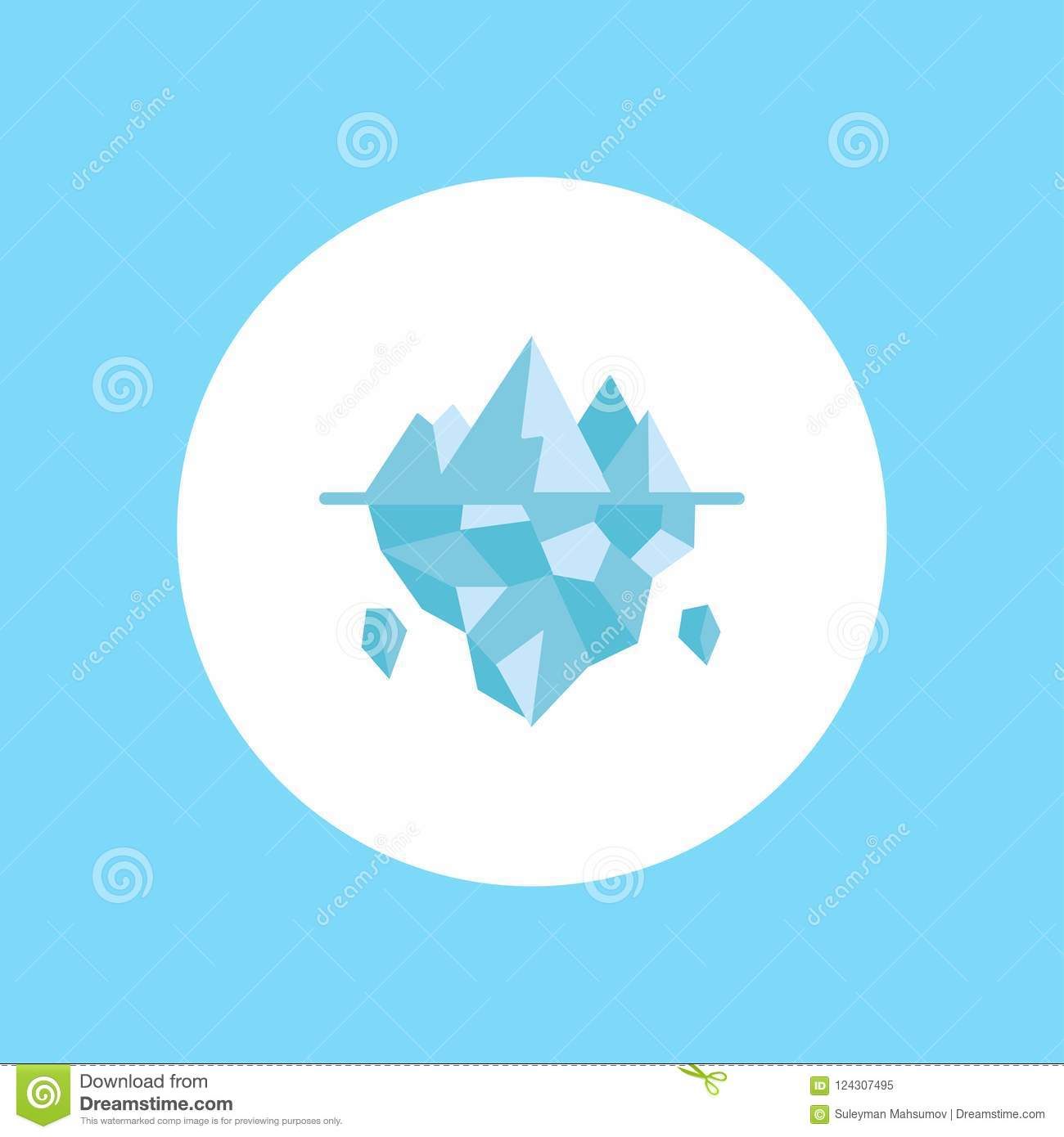 ice vector icon sign symbol stock vector illustration of melt christmas 124307495 dreamstime com