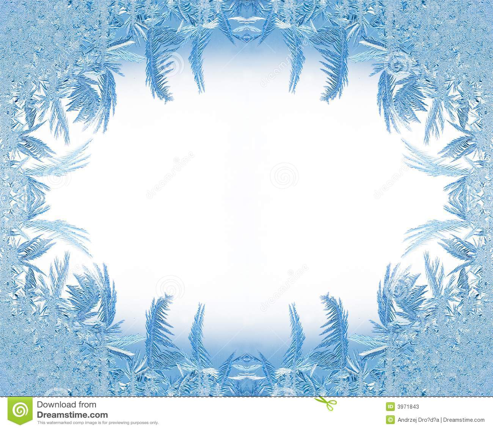 Ice Frame Stock Photos - Image: 3971843