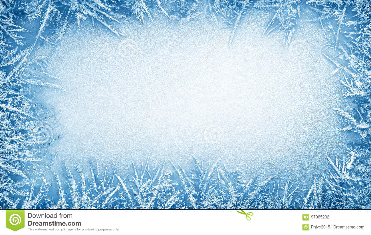 ice frost frame stock photo  image of wintertime  overhead