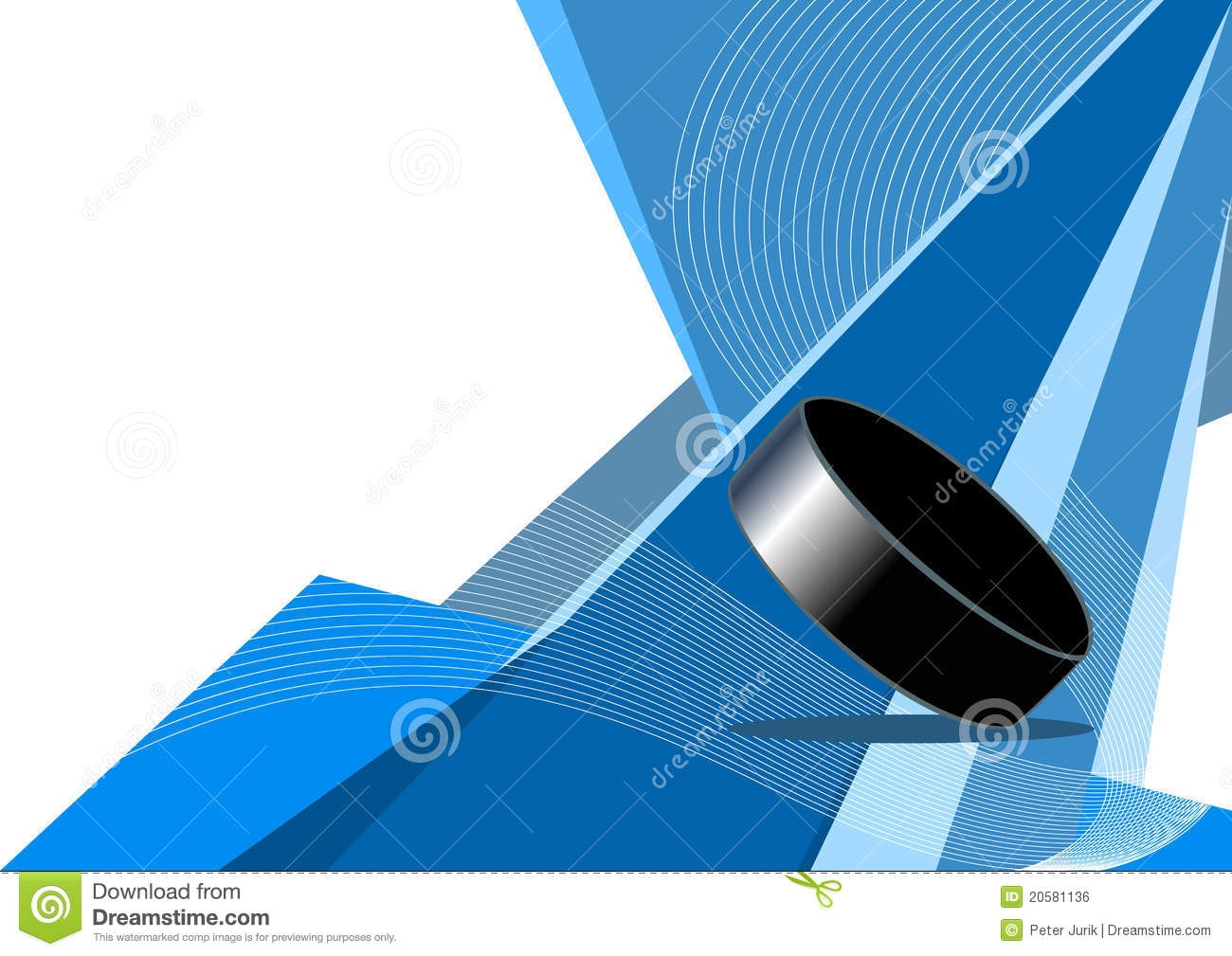 Abstract Sports Background Royalty Free Stock Image: Ice Hockey, Abstract Design Royalty Free Stock Image