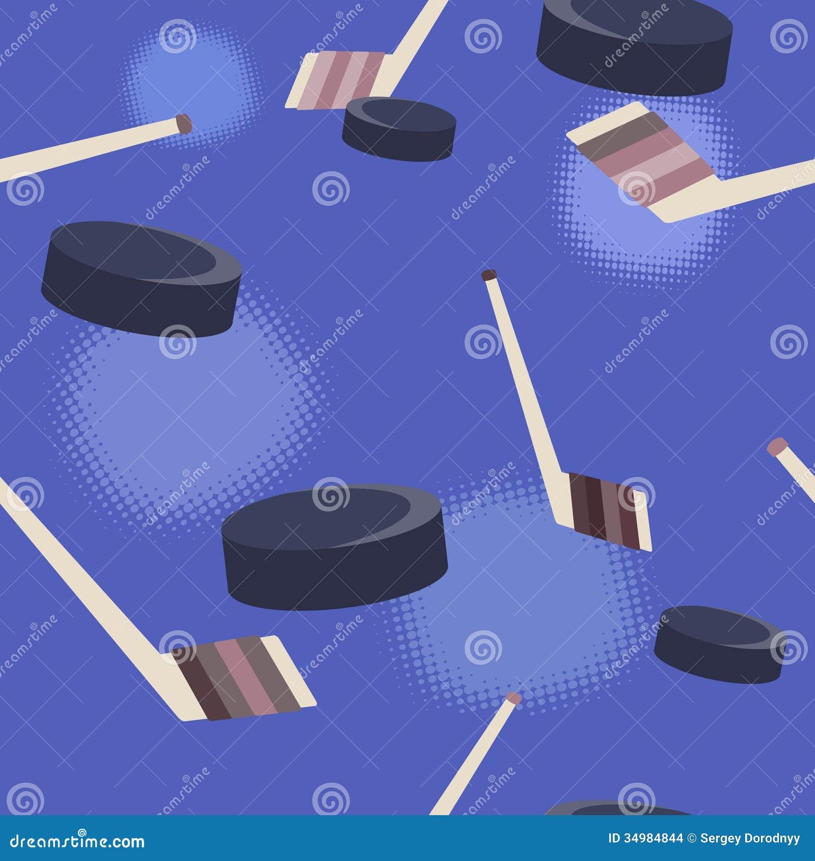 Ice Hockey Background. Stock Images