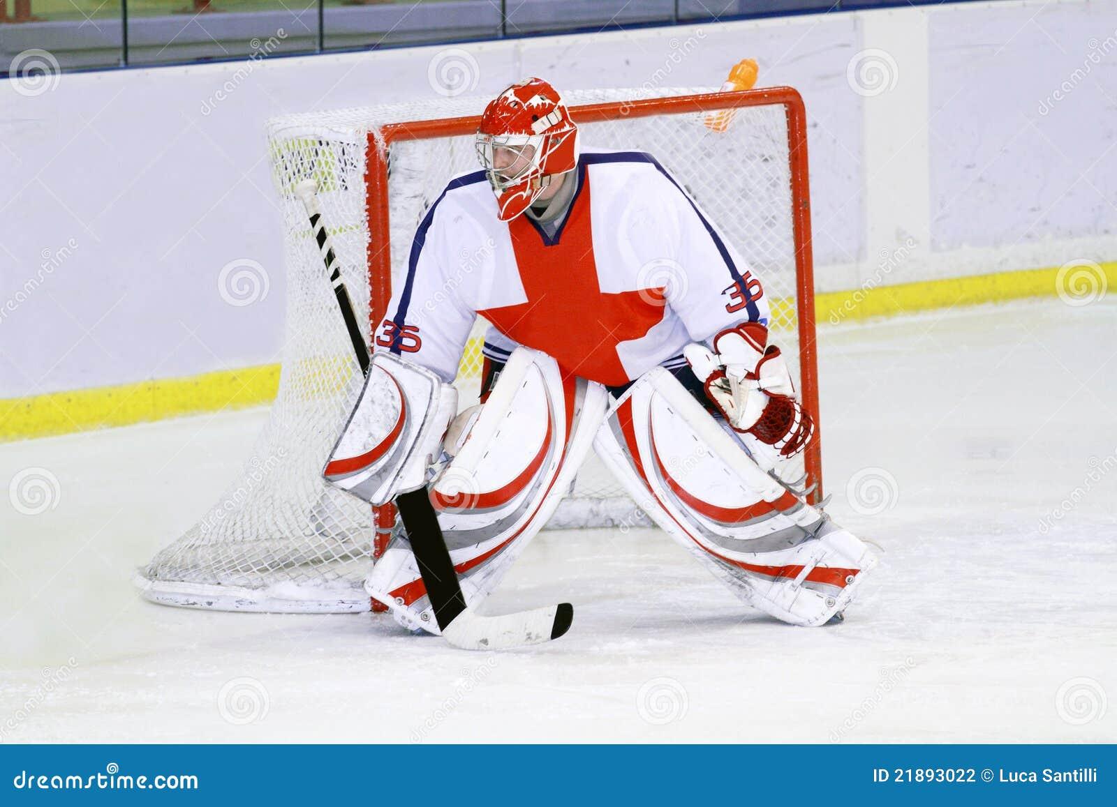 ice hockey goalie stock photography image 21893022
