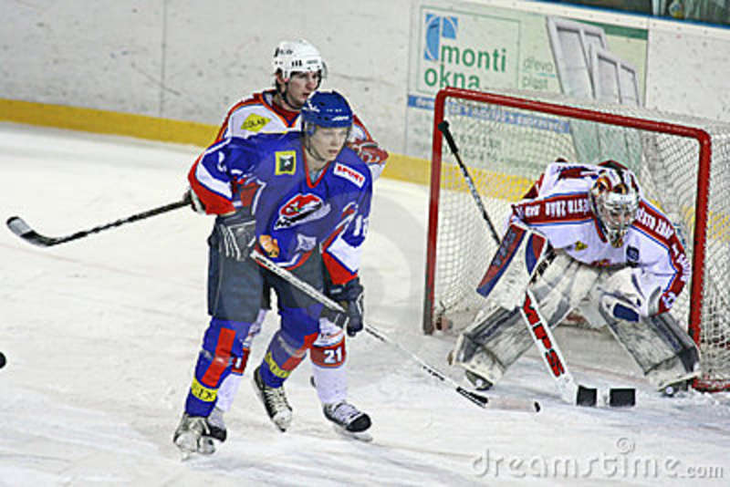 ice hockey match