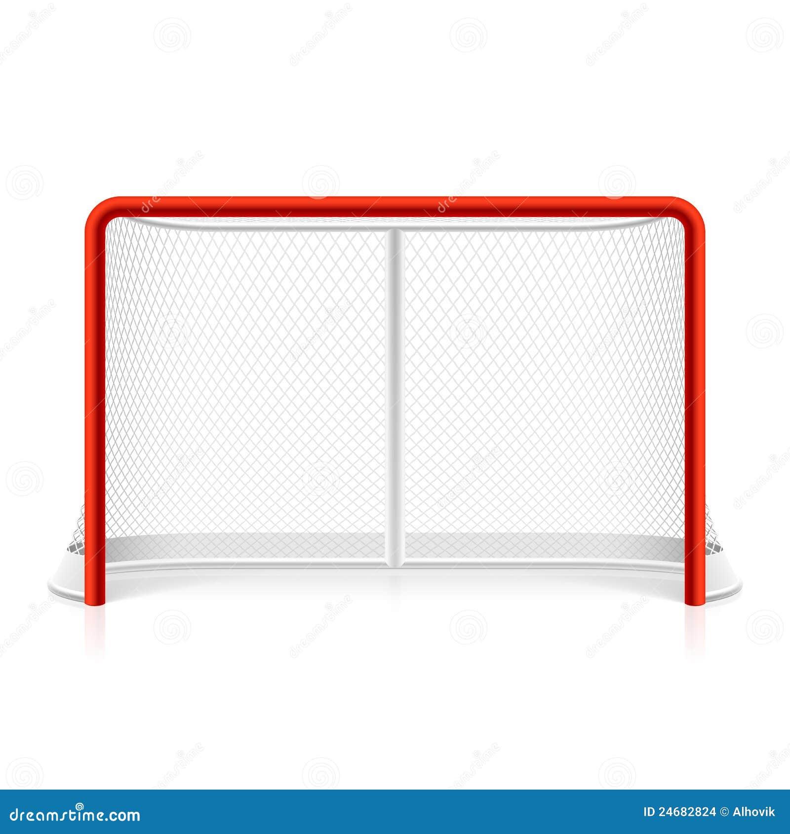 Ice Hockey Net Stock Images - Image: 24682824
