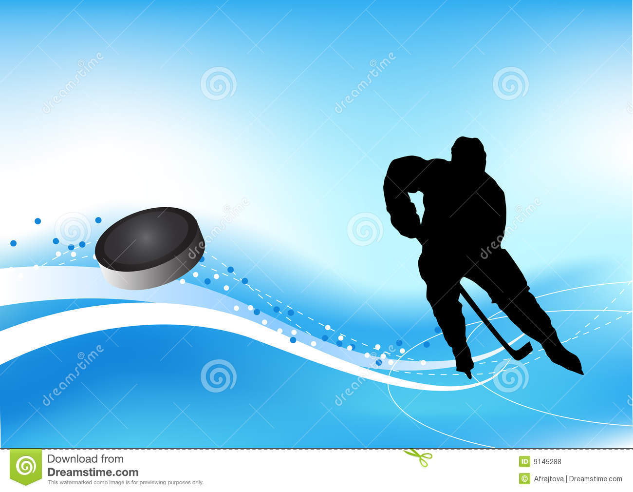 Ice Hockey Player Royalty Free Stock Photos - Image: 9145288
