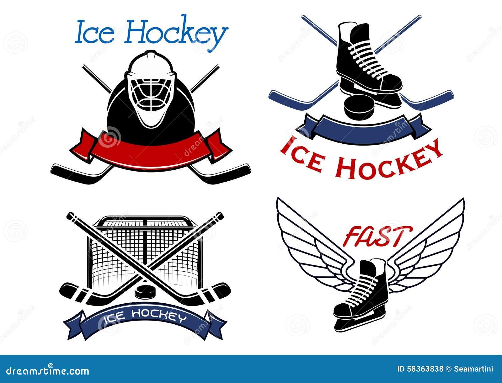 ice hockey sport icons and symbols stock vector image hockey stick vector art ccm vector hockey stick