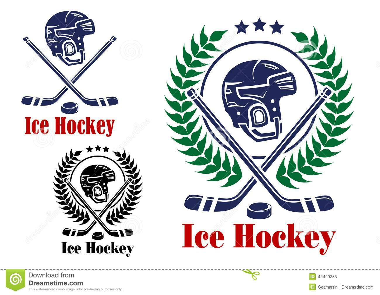 ice hockey symbols
